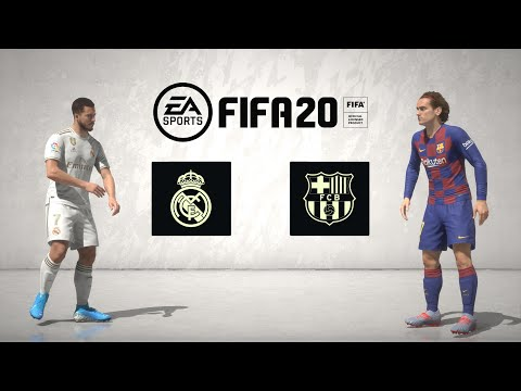 FIFA 20 Full Game: El Clasico – Real Madrid vs Barcelona (Legendary + Menu Walkthrough) XBOX ONE