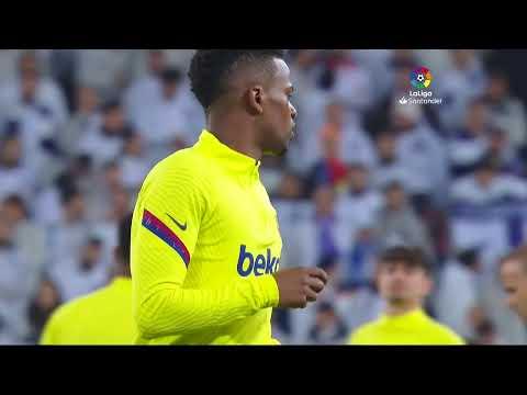 Calentamiento Real Madrid vs FC Barcelona – ElClásico