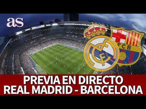 REAL MADRID VS BARCELONA  Previa EN DIRECTO desde el BERNABÉUI Diario AS
