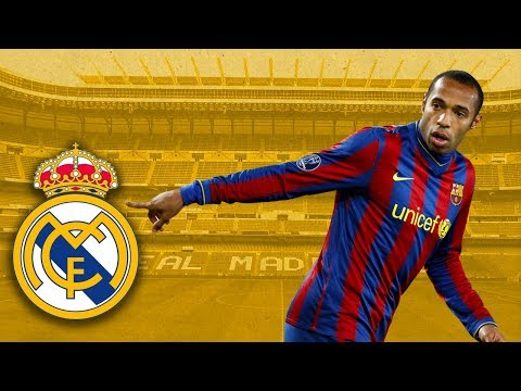 The day Thierry Henry signed for Real Madrid – Oh My Goal