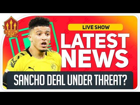Jadon Sancho La Liga Transfer Threat? Man Utd News Now