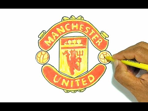 How to Draw the Manchester United Logo
