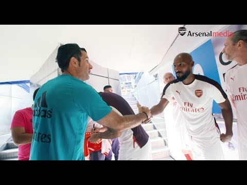 ACCESS ALL AREAS | Real Madrid v Arsenal Legends