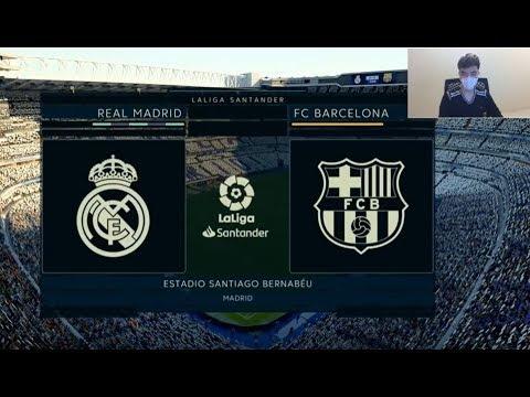Fifa 20 Gameplay – Real Madrid vs Barcelona