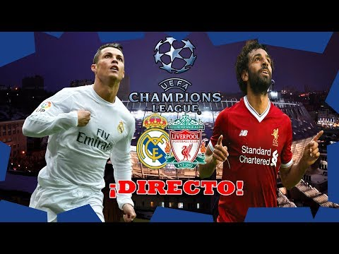 REAL MADRID VS LIVERPOOL FINAL CHAMPIONS 2018 KIEV REACCIONANDO EN DIRECTO