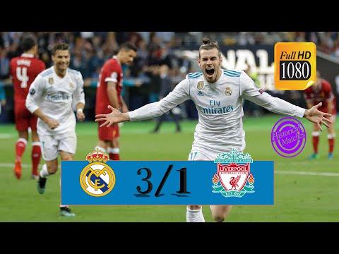 Real Madrid vs Liverpool 3/1 #Uefa_CL_Final 2018 Sorotan Penuh & Gol Full HD رؤف خليف