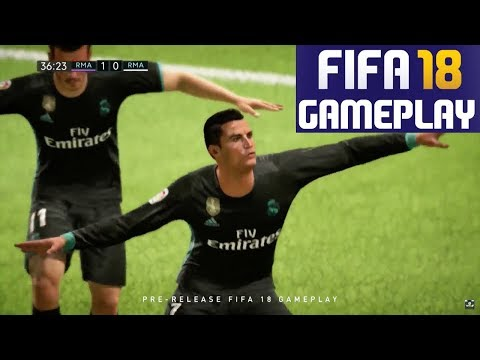 FIFA 18 FIRST Official Gameplay – Real Madrid vs Real Madrid (New Gameplay in Full)