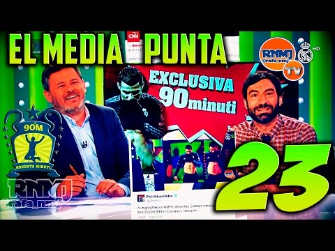 90 minuti #23 El Media Punta 18/07/2016 | Real Madrid TV