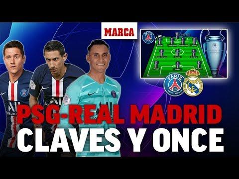 Champions League 2019: PSG vs Real Madrid, análisis y previa I MARCA