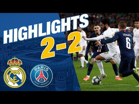 GOALS AND HIGHLIGHTS | Real Madrid 2-2 PSG