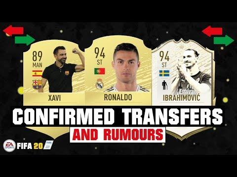 FIFA 20 | NEW CONFIRMED TRANSFERS & RUMOURS 😱🔥| FT. RONALDO, XAVI, IBRAHIMOVIC… etc