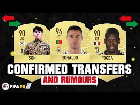 FIFA 20 | NEW CONFIRMED TRANSFERS & RUMOURS 😱🔥| FT. RONALDO, SON, POGBA… etc