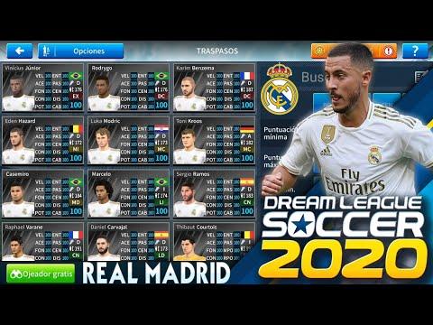 Plantilla del Real Madrid para Dream League Soccer 2019-2020