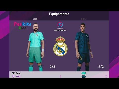 REAL MADRID KITS PES 2020