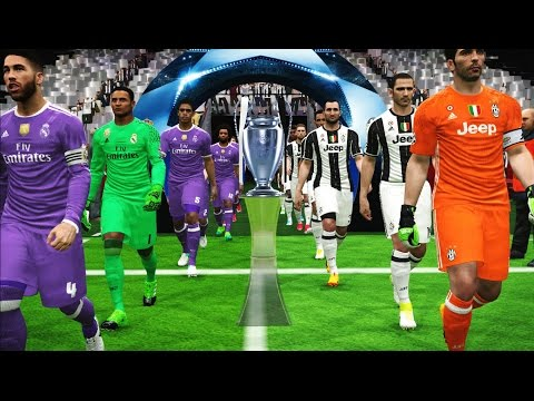 PES 2017 | Juventus vs Real Madrid | Final UEFA Champions League (UCL) | Gameplay PC