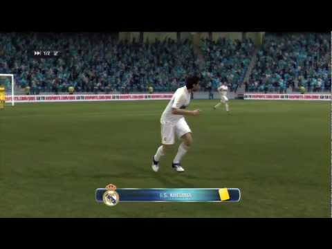 FIFA 12 – Real Madrid vs Manchester City 2-2 [Head To Head Sessions] HD