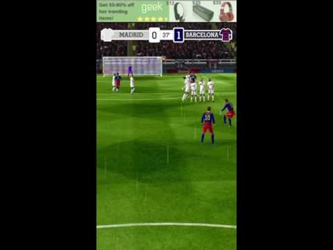 Score hero Real Madrid vs Barcelona