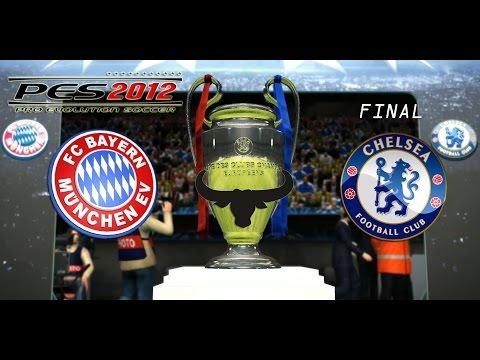 PES 2012 UEFA Champions League – Chelsea vs Bayern Munich – FINAL