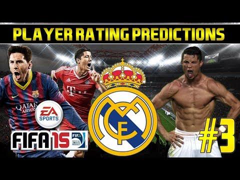 Fifa 15 Player Rating Predictions #3 – Real Madrid | Ronaldo, Bale, Ramos & more!