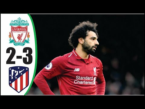 Liverpool vs Atletico Madrid (2-3)|Champions League|Full match|online stream|pes2020| highlights