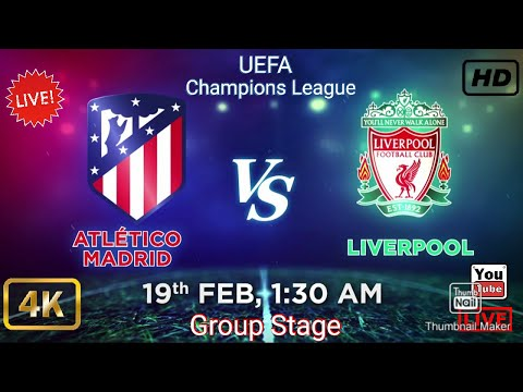 Liverpool vs Atletico Madrid |Champions League|Full match|online stream|live stream|Group Stage