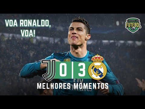 O DIA QUE CR7 FOI APLAUDIDO POR TODOS | Juventus 0 x 3 Real Madrid | Melhores Momentos | 03/04/2018