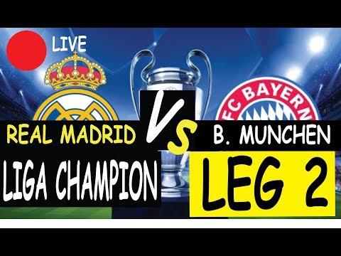 Live Streaming Real Madrid vs Bayern Munchen  LEG 2 // 2018