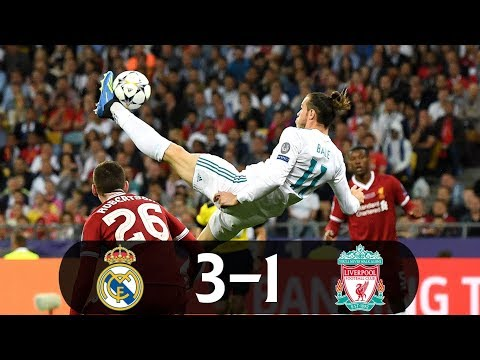 Real Madrid vs Liverpool 3-1 – UEFA Champions League Final 2017-18 – Highlights