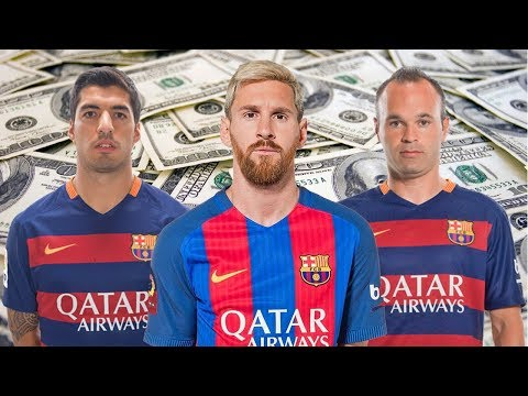 Barcelona Player Salaries 2017-18 – Who Is The Most Received?
