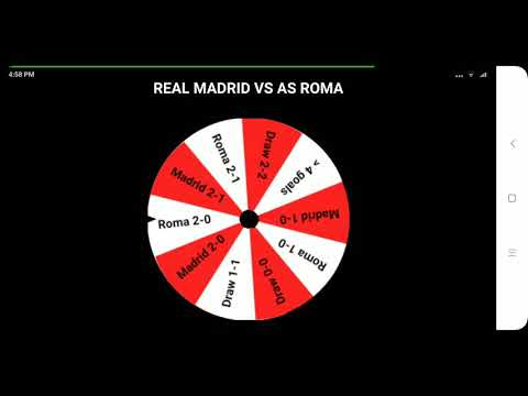 Real Madrid vs Roma: The Wheel's prediction for ICC 2018