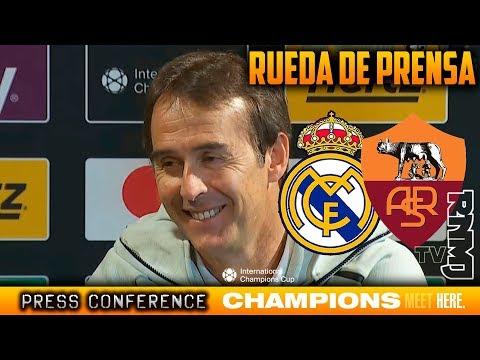 Real Madrid 2-1 Roma Rueda de prensa de Lopetegui post | ICC 2018