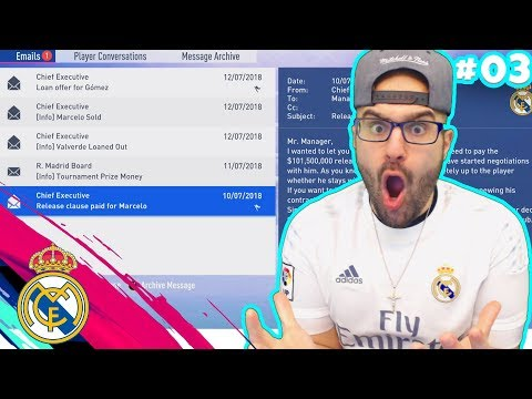 NO!! THEY SOLD MY STAR PLAYER! FIFA 19 Real Madrid Career Mode #03