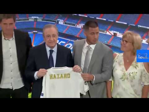 Live replay: Eden Hazard unveiled as Real Madrid player