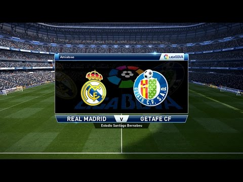 PES 2016 – Real Madrid vs Getafe