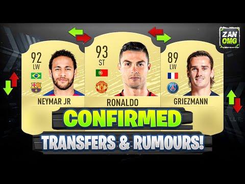 FIFA 20 | NEW CONFIRMED TRANSFERS & RUMOURS!! ✅🔥 | FT. RONALDO, NEYMAR, GRIEZMANN…etc