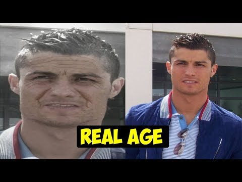 Shocking Real Age Of Real Madrid Player- Real Madrid Football Player Real Age 2018