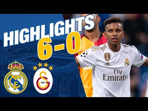 GOALS AND HIGHLIGHTS | Real Madrid 6-0 Galatasaray