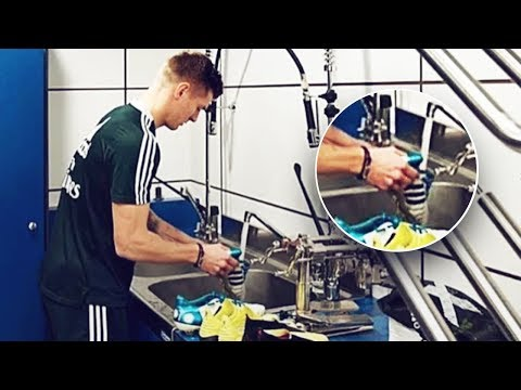 The only Real Madrid player who cleans his own boots | Oh My Goal