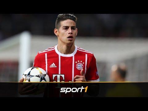 Gerücht vom Tisch: James kann nicht zu Real Madrid | SPORT1 – TRANSFERMARKT