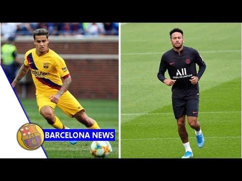Barcelona hatch fresh Neymar transfer plan after Philippe Coutinho move- Barcelona news now