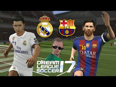 Real Madrid vs Barcelona • Dream League Soccer 2017
