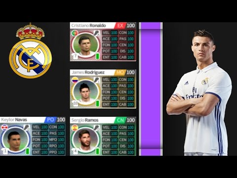 INCREÍBLE HACK PARA DREAM LEAGUE SOCCER 17 PLANTILLA DEL REAL MADRID AL 100% + MILLONES DE MONEDAS