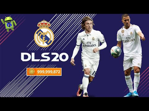 DLS 20 APK Unlimited Money Coins Real Madrid Team 2020 Download