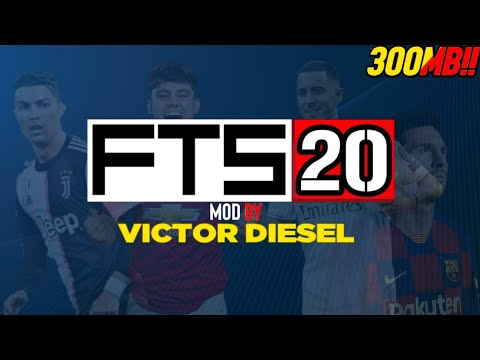 Download FTS 20 by Victor Diesel, Hazard in Real Madrid 300MB!!
