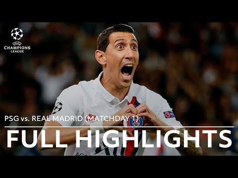 PSG vs. Real Madrid Full Highlights | 2019-20 Champions League Matchday 1