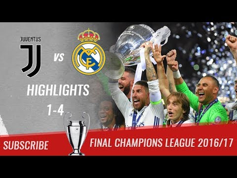 🏆 2016/17 – Final UCL 🏆 Juventus FC vs Real Madrid 1-4 All Highlights & Goals | HD