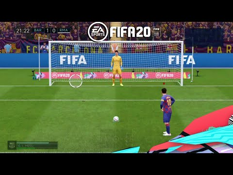 FIFA 2020 EL Clasico Real Madrid Vs Barcelona – FIFA 20 PS4 Gameplay