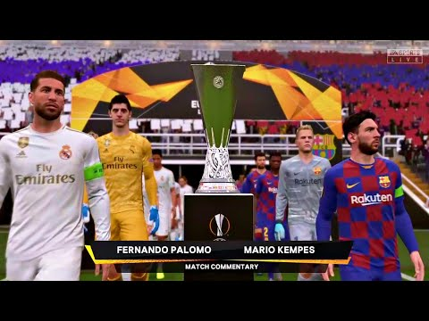 Real Madrid vs Barcelona Europa Cup Final FIFA 2020 ( EL CLASICO )
