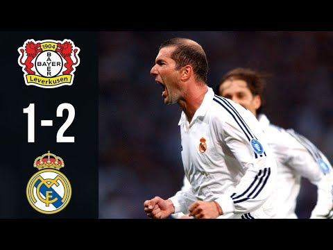 Bayer Leverkusen vs Real Madrid 1-2 – All Goals & Highlights UCL Final 2002 | 1080i HD