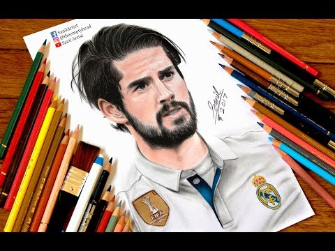 Drawing Isco ….. Real Madrid